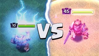 MAX BATTLE MACHINE VS MAX KING | Clash of Clans | Comparing Stats and Attacks