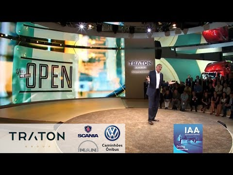 Traton Group Press Conference at the IAA 2018 in Hannover (Formerly Volkswagen Truck & Bus)