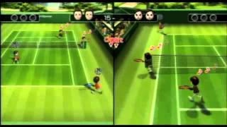 Extreme Wii Sports-Tennis: A game of chance