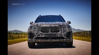See the new BMW X7 prototype in motion