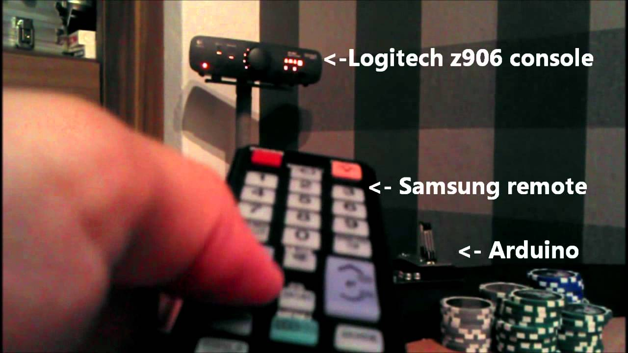 Samsung Smart Tv Logitech Z906 With One Remote