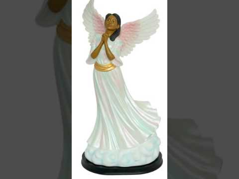 African Angels Figurines-African Angels Collectibles