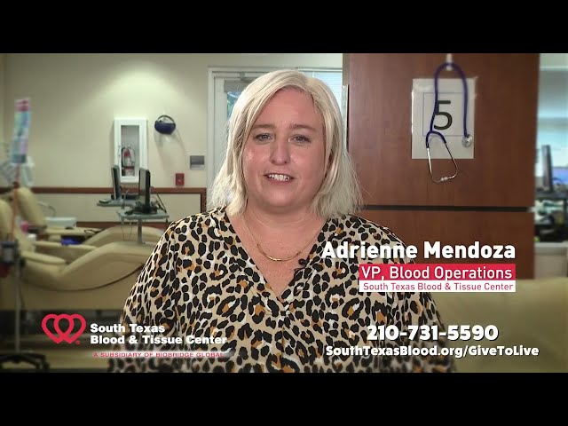 Give to Live Blood Drive - Adrienne