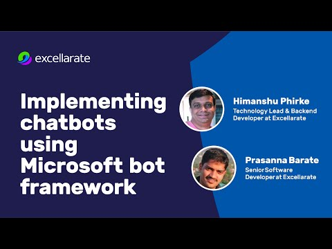 Implementing chatbots using Microsoft bot framework - Demo - Synerzip