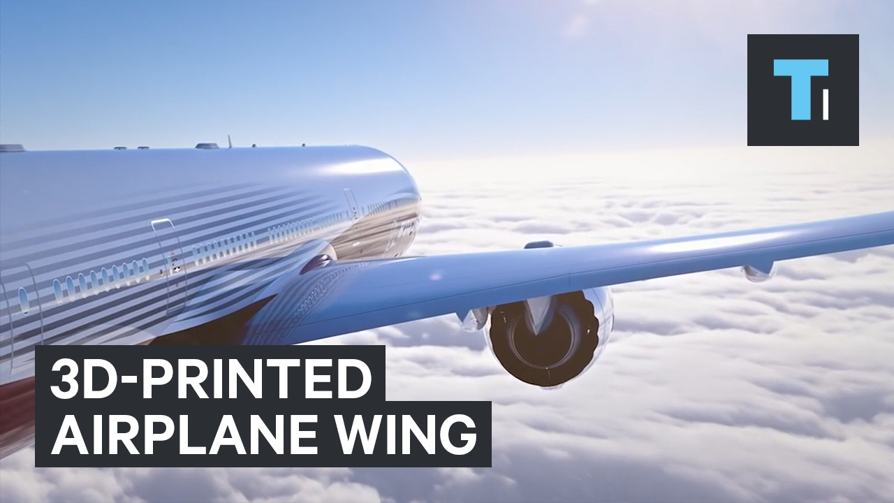 World's Largest 3D-Printed Object For Airplane Wings - YouTube