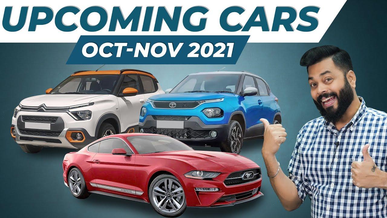 Top 10 Best Upcoming Cars In October & November 2021 ⚡ Tata Punch, Citroen C3, MG Astor & More