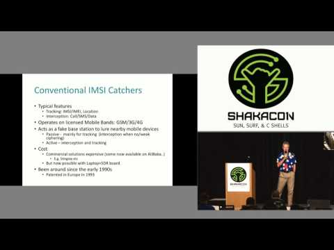 WiFi Based IMSI Catcher by Piers O'Hanlon
