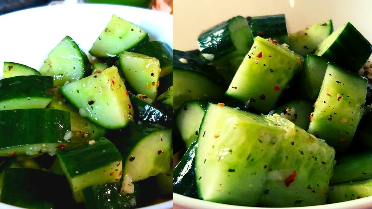 Eating Garlic and Cucumber Salad This Is What Happens To Your Body !! |  Lost Belly Fat !!