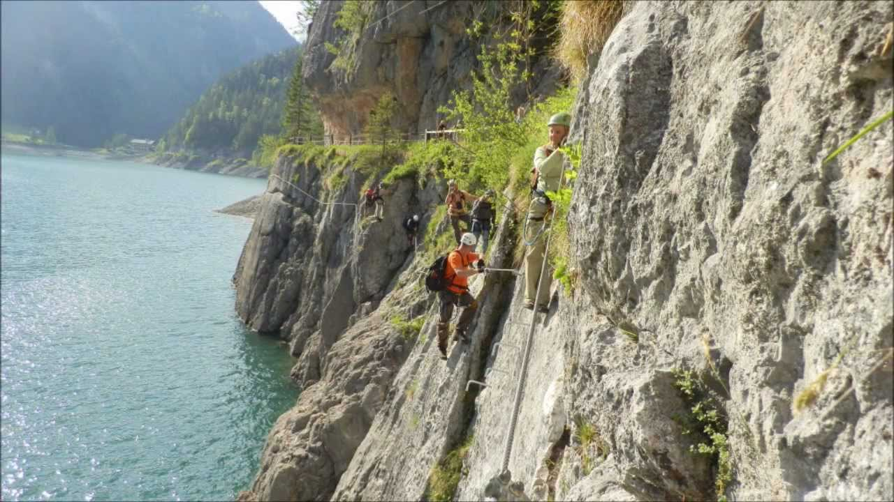 Laserer Alpin Klettersteig : Laserer alpin klettersteig c youtube