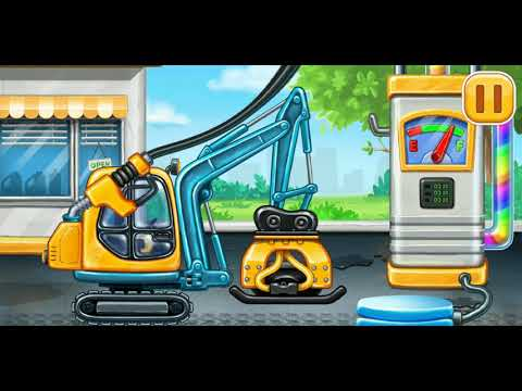 6. Тракторы и машинки. Трамбователь. Мультфильмы для детей