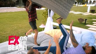 Luigi attackiert Ferhat mit Sofa | Ex on the Beach - Folge 10