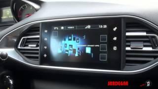 Nuova Peugeot 308 2015 test drive