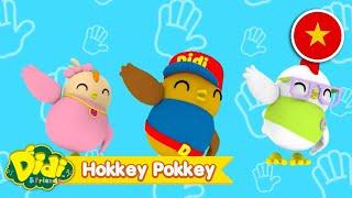 HOKKEY POKKEY | Giai điệu và bài hát dành cho trẻ em | Didi & Friends Vietnam