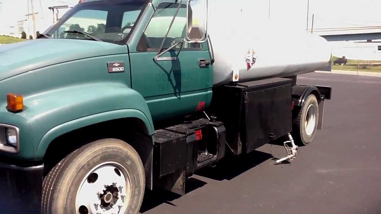 All Chevy chevy c6500 flatbed : 1999 Chevrolet C6500 with 2000X1 Stainless Tank Stock # 995217 ...