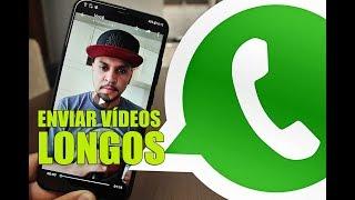 Super Truque para Enviar VÍDEOS LONGOS no WhatsApp sem precisar Cortar