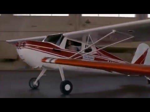 Roger Moore James Bond Live and Let Die Cessna 172 Plane Escape