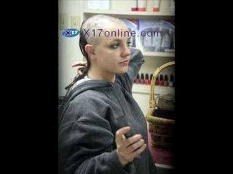 Britney Spears Glatze