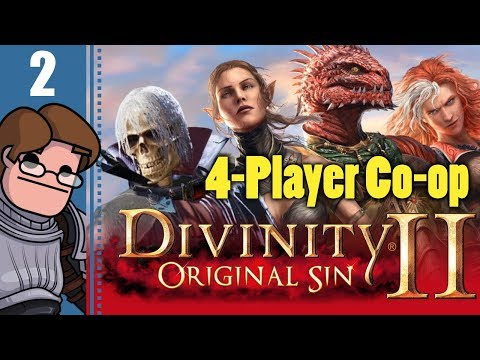 Let's Play Divinity: Original Sin 2 Four Player Co-op Part 2 - Mutiny