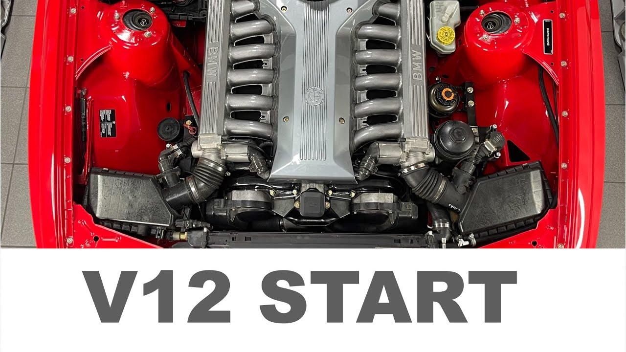 Download BMW E30 M3 Cabrio - V12 Motorstart