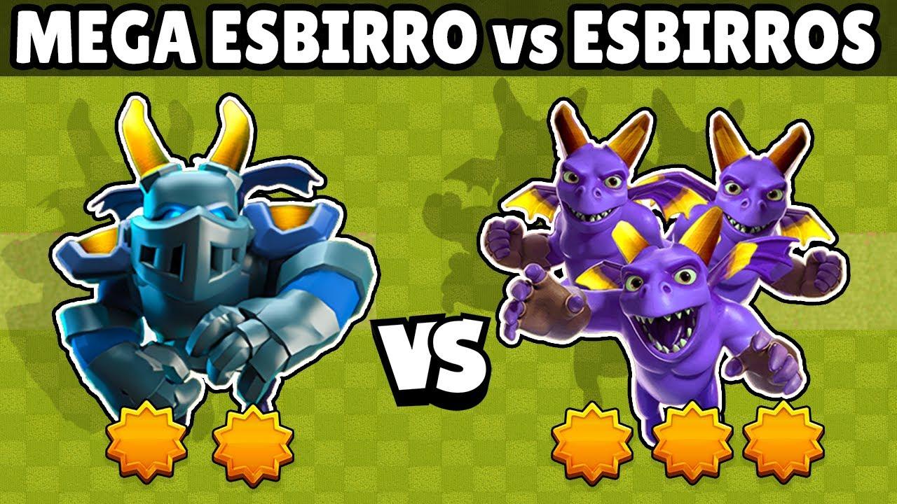 MEGA ESBIRRO vs ESBIRROS | 1 vs 1 | OLIMPIADAS ESTELAR | CUAL ES MEJOR? | CLASH ROYALE