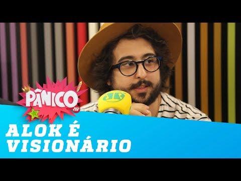 Alok é visionário diz Zeeba autor de Hear me Now