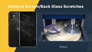 Phone Scratches Removing of Screen/Back Glass in 6 Mins By Grinding & Polishing