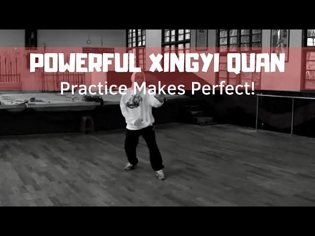 Xingyi Quan Practice
