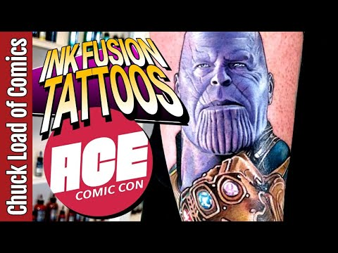 LIVE from ACE Comic Con | Ink Fusion Tattoo Empire