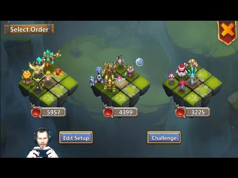 JT's Free 2 Play Account Lost Battlefield + Talent & Hero Quests Castle Clash