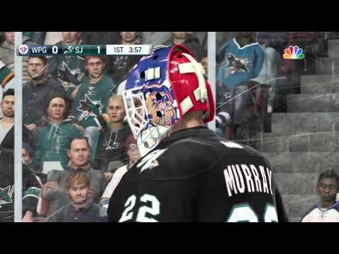 LGHL San Jose Sharks Vs Winnipeg Jets