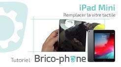 Tuto réparation iPad mini : Changer la vitre tactile brisée démontage + remontage HD