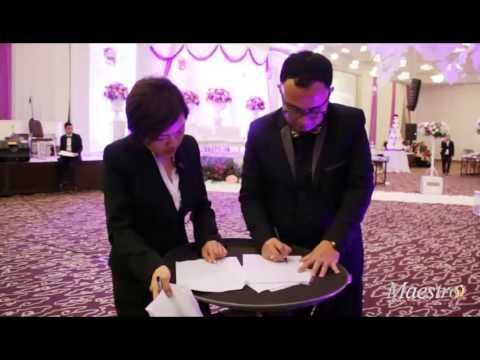 """Video portfolio """"MAESTRO Wedding Organizer"""" - Jakarta"""