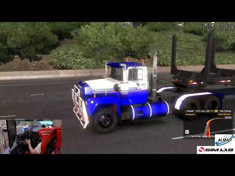 american truck simulator / oregon / chilled drive / episode 2