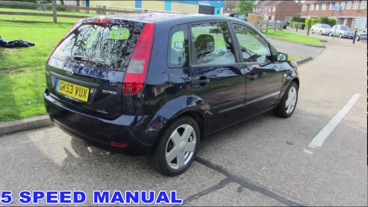 2003 ford fiesta 5 door long mot and tax youtube. Black Bedroom Furniture Sets. Home Design Ideas