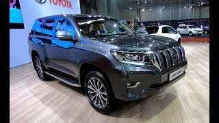 Toyota Land Cruiser President SUV new model walkaround and interior