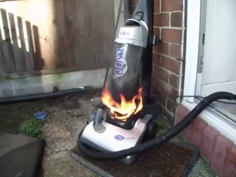 Vacuum Cleaner Fire Youtube