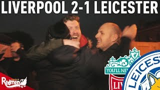 Video Liverpool v Leicester 2-1 | #LFC Free For All Fan Cam download MP3, 3GP, MP4, WEBM, AVI, FLV Januari 2018