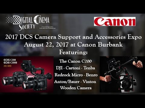 Canon C200 at 2017 DCS Camera Support and Accessories Expo