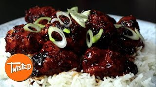 Kung Pao Popcorn Fried Chicken Recipe | Twisted