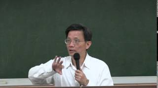 臺灣大學歷史系吳展良教授:從儒學觀點論學運與臺灣公民社會的未來 部分1