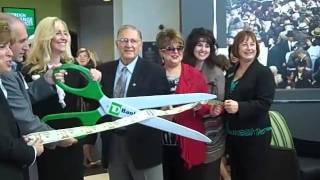 TD Bank opens its newest branch in Johnston, R.I., Nov. 13,