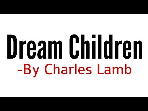 Dream children essayist