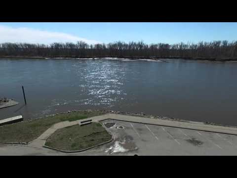 Missouri River at NP Dodge Park Omaha NE