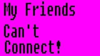 My Friends Cant Get On My Server [FIX][Bukkit]