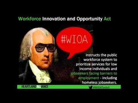 Webinar: The Workforce Innovation and Opportunity Act & Philanthropy
