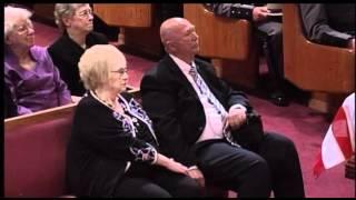 Trooper Lodge speaks at Trooper Anna's funeral