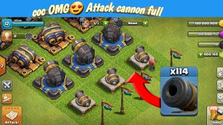 COC New Mod Server For Android Unlimited Everythin  Full upgrade cannon vs mega dragon funny attack