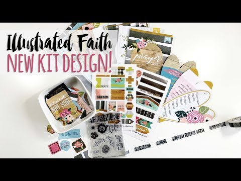 Illustrated Faith Persevere Kit Unboxing | New design thoughts & what it means to be an affiliate!