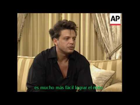 Luis Miguel - English Interview (1998)
