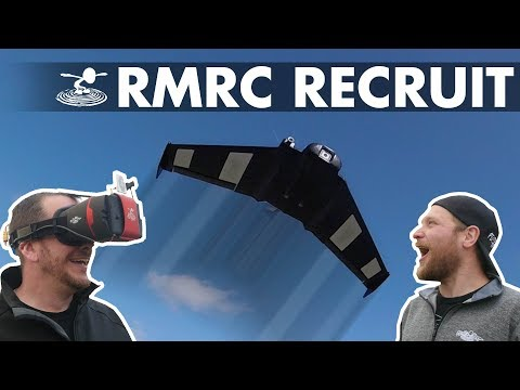 Stabilized FPV wing under 100 bucks?! - RMRC Recruit